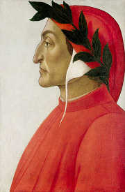 Dante by Botticelli