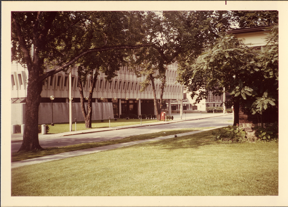 St. Michael's library, 1972